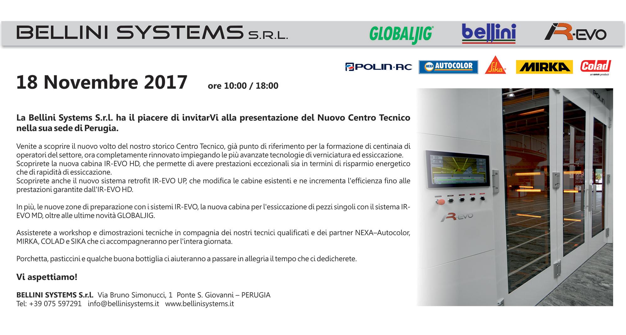 INVITO INAUGURAZIONE CENTRO TECNICO 2017----